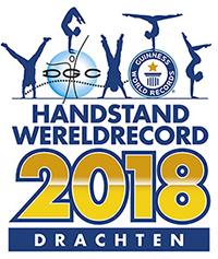 Logo Handstand Wereldrecord 2018