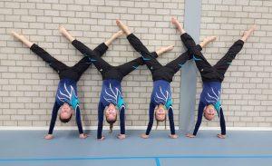 Selectie dames handstand